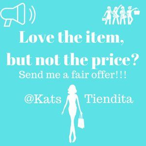 Love the item but not the Price? Send Me an Offer!